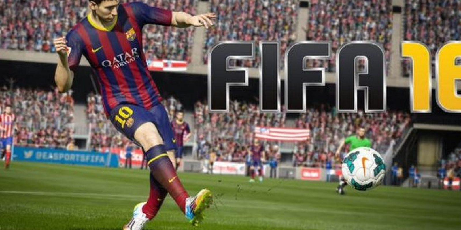 Lionel Messi en el FIFA 16. Foto:EA Sports