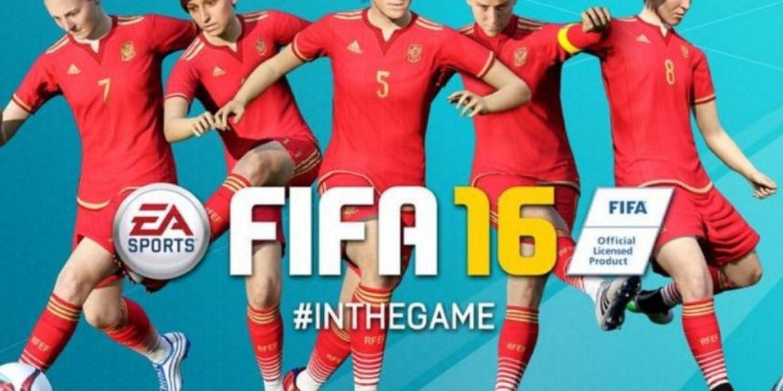 El fútbol femenino llegará por fin la juego. Foto:EA Sports
