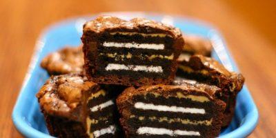 Torta de Óreo. Foto:vía Flickr/ thebrokenone