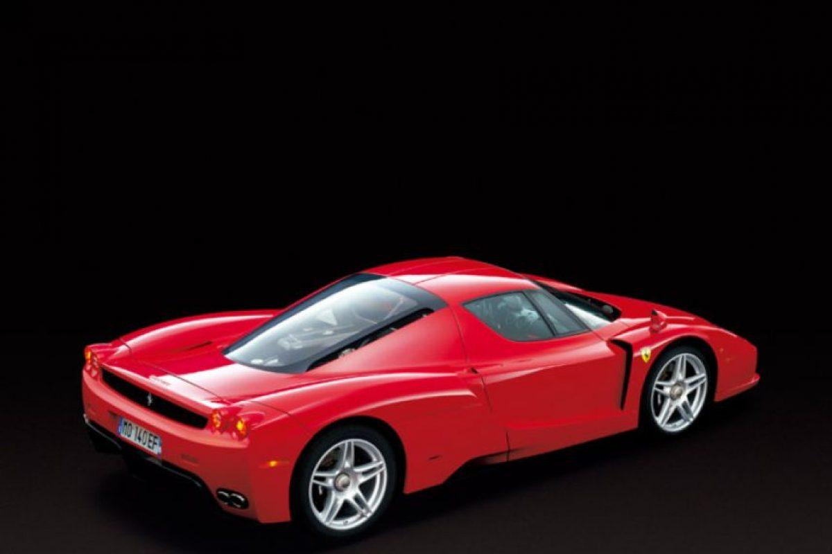 Se terminó de fabricar en 2005. Foto:Ferrari