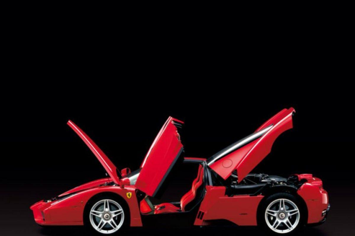 Su nombre, Enzo Ferrari, se lo debe al fundador de la marca. Foto:Ferrari