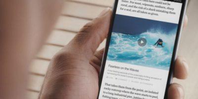 """""""Instant articles"""" de Facebook también ofrece opciones de medición y análisis de tráfico para el creador y anunciante Foto:Facebook"""