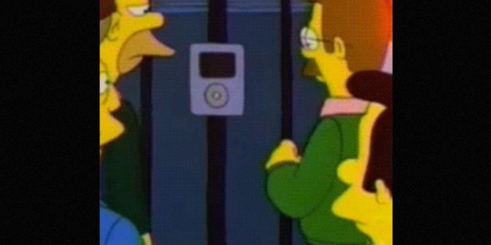 En 1996, el Intercom de la casa del Sr. Burns parecía un iPod Foto: vía FOX