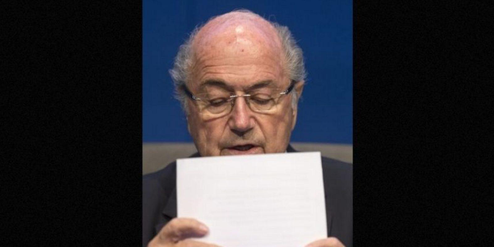 Algunos de los países que hicieron estos tratos con Blatter, según la fuente citada, son Honduras, Guatemala, El Salvador, Panamá, Gabón y Eslovenia, y además, todos los encuentros se hacían en los hoteles más lujosos. Foto:AFP