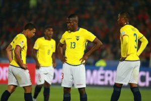 Ecuador está en el último lugar del grupo A con cero puntos. Foto:Getty Images