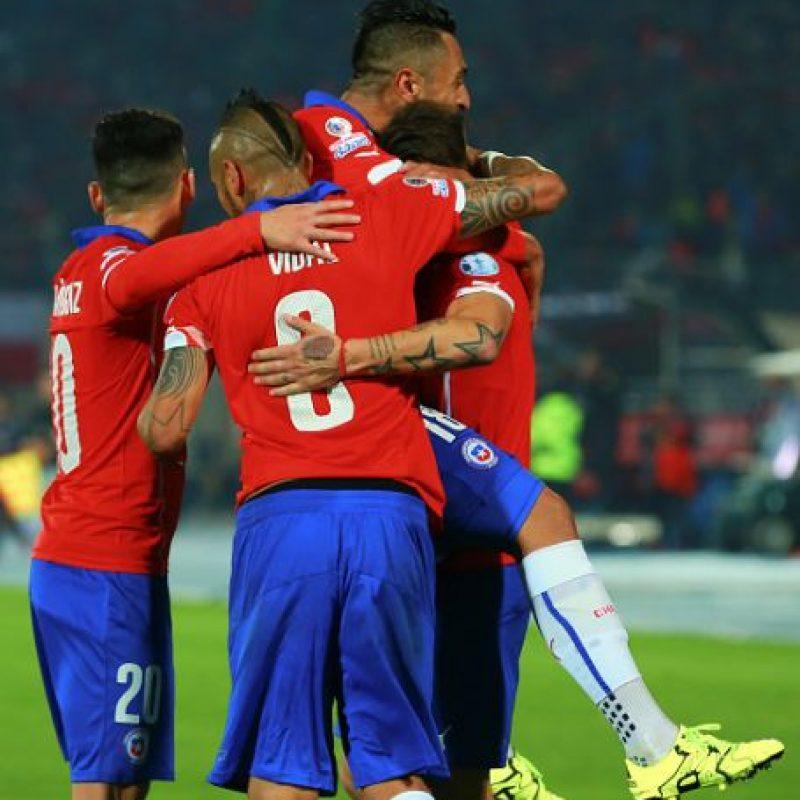 Los chilenos son líderes en el grupo A de la competencia con tres unidades. Foto:Getty Images