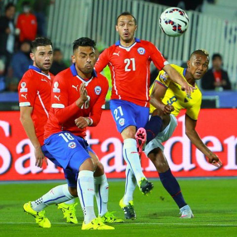 Esta victoria la consiguieron en el primer partido frente a Ecuador. Foto:Getty Images