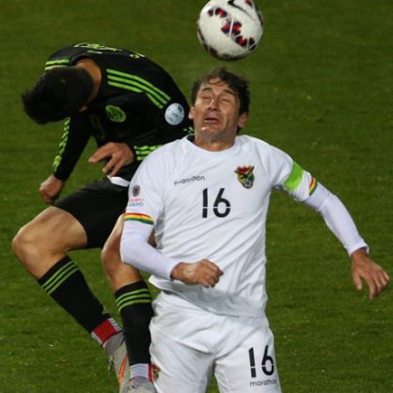 Los bolivianos enfrentaron a la selección de México. Foto:Getty Images