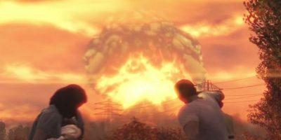 Todo cambia cuando ocurren explosiones nucleares y huyen al refugio Vault 111. Foto:Bethesda Softworks