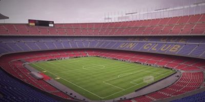 Camp Nou de Barcelona, España. Foto:EA Sports