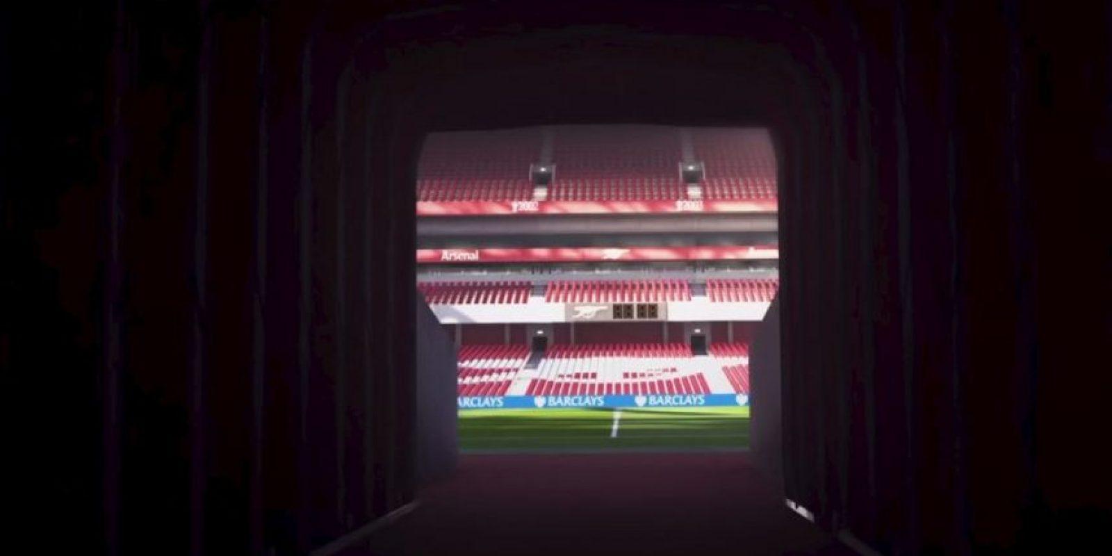 Emirates Stadium de Londres, Inglaterra. Foto:EA Sports