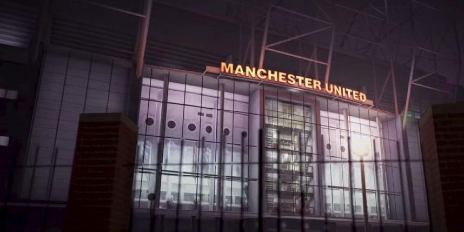 """Old Trafford"" de Manchester, Inglaterra. Foto:EA Sports"