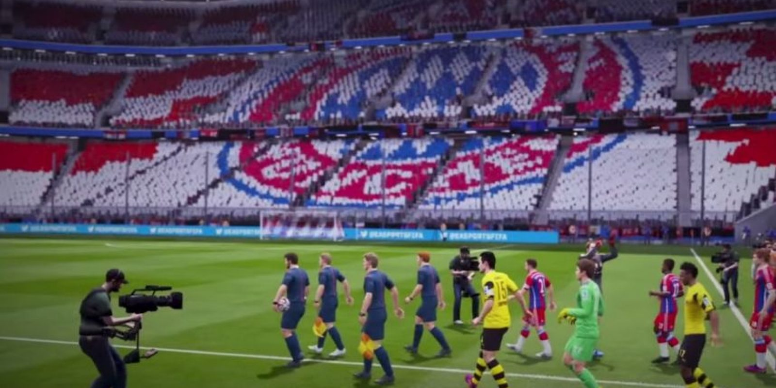 Allianz Arena de Múnich, Alemania. Foto:EA Sports