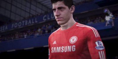 Thibaut Courtois, portero del Chelsea. Foto:EA Sports