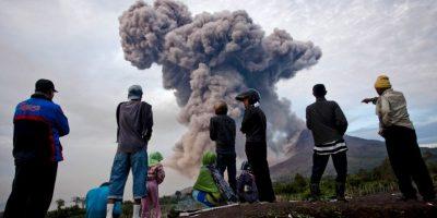 El volcán comenzó a presentó actividad el 2 de junio. Foto:Getty Images