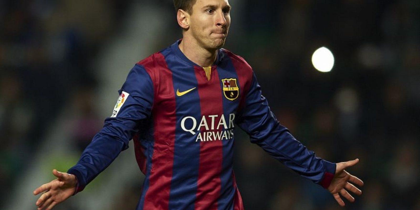 """El argentino recuperó su máximo nivel y con sus 43 goles fue determinante para que su Barça ganara el """"triplete"""". Foto:Getty Images"""