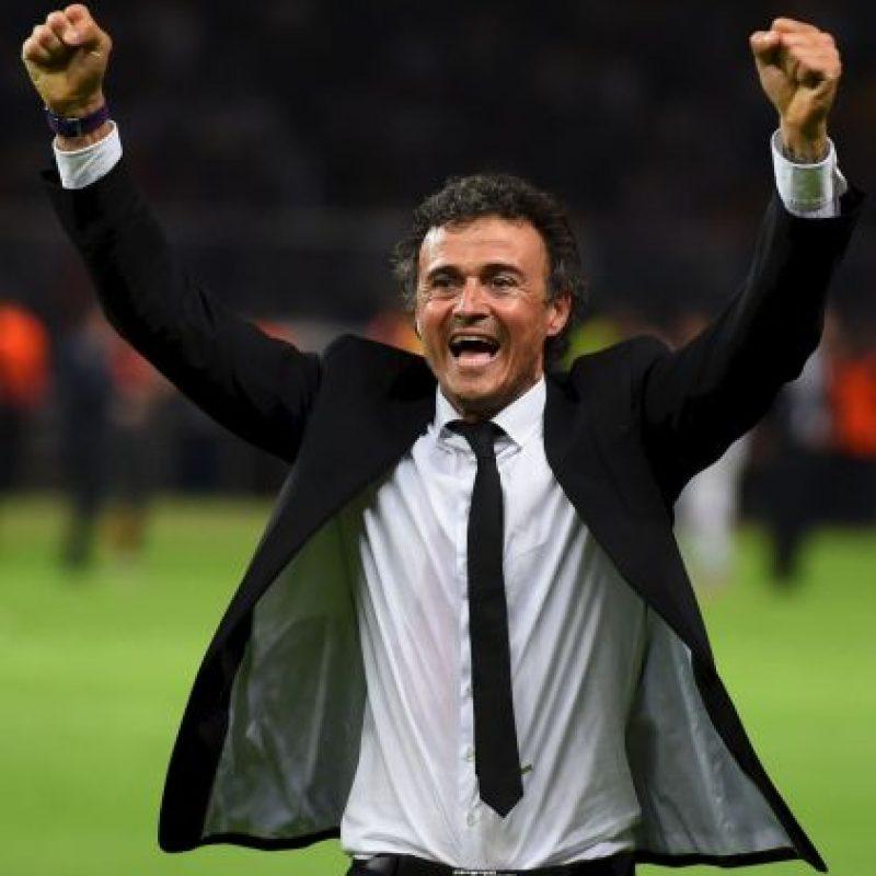 """En su año debut además de ganar el """"triplete"""" con el Barça, también es considerado el mejor entrenador del año. Luis Enrique logró con los catalanes 30 victorias, 4 empates y 4 derrotas. Foto:Getty Images"""