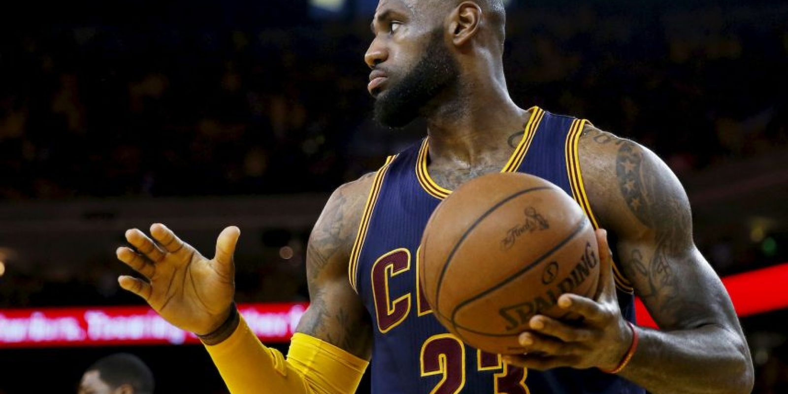 """Y es que """"King"""" James es considerado el mejor jugador en la actualidad, y muchos incluso lo ponen por encima de leyendas como Michael Jordan. Foto:Getty Images"""