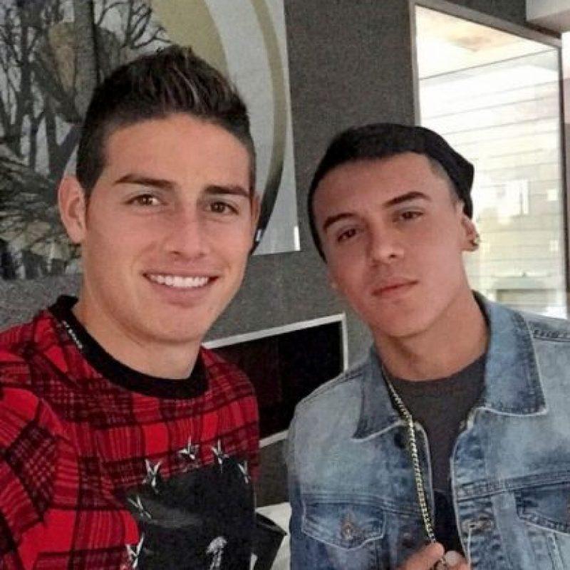 Kevin Roldán tiene 22 años y también es amigo de James Rodríguez. Foto:Vía instagram.com/kevinroldankr
