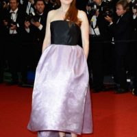 Julianne Moore en Cannes. Perfecta hasta que… Foto: vía Getty Images