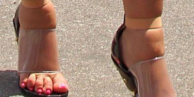 Al parecer sus zapatos también estaban en ese estado. Foto:vía Getty Images