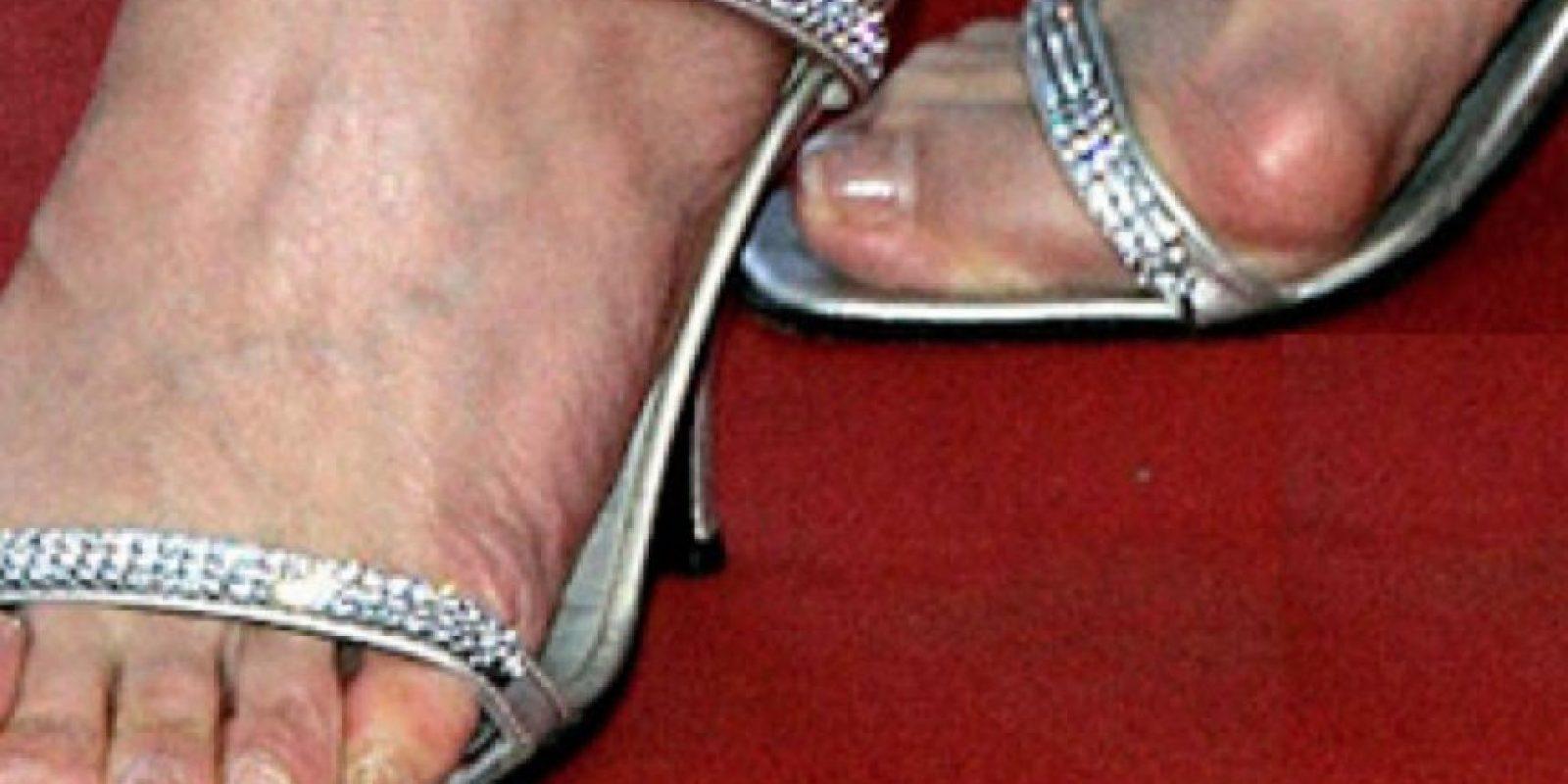 ¡Con estos zapatos! Foto:vía Getty Images