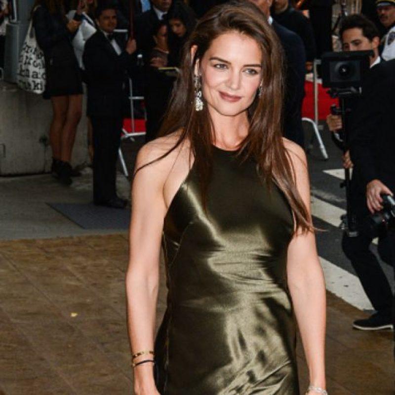 Katie Holmes destacó, cuando estaba casada con Tom Cruise, por su estilo. Foto:vía Getty Images