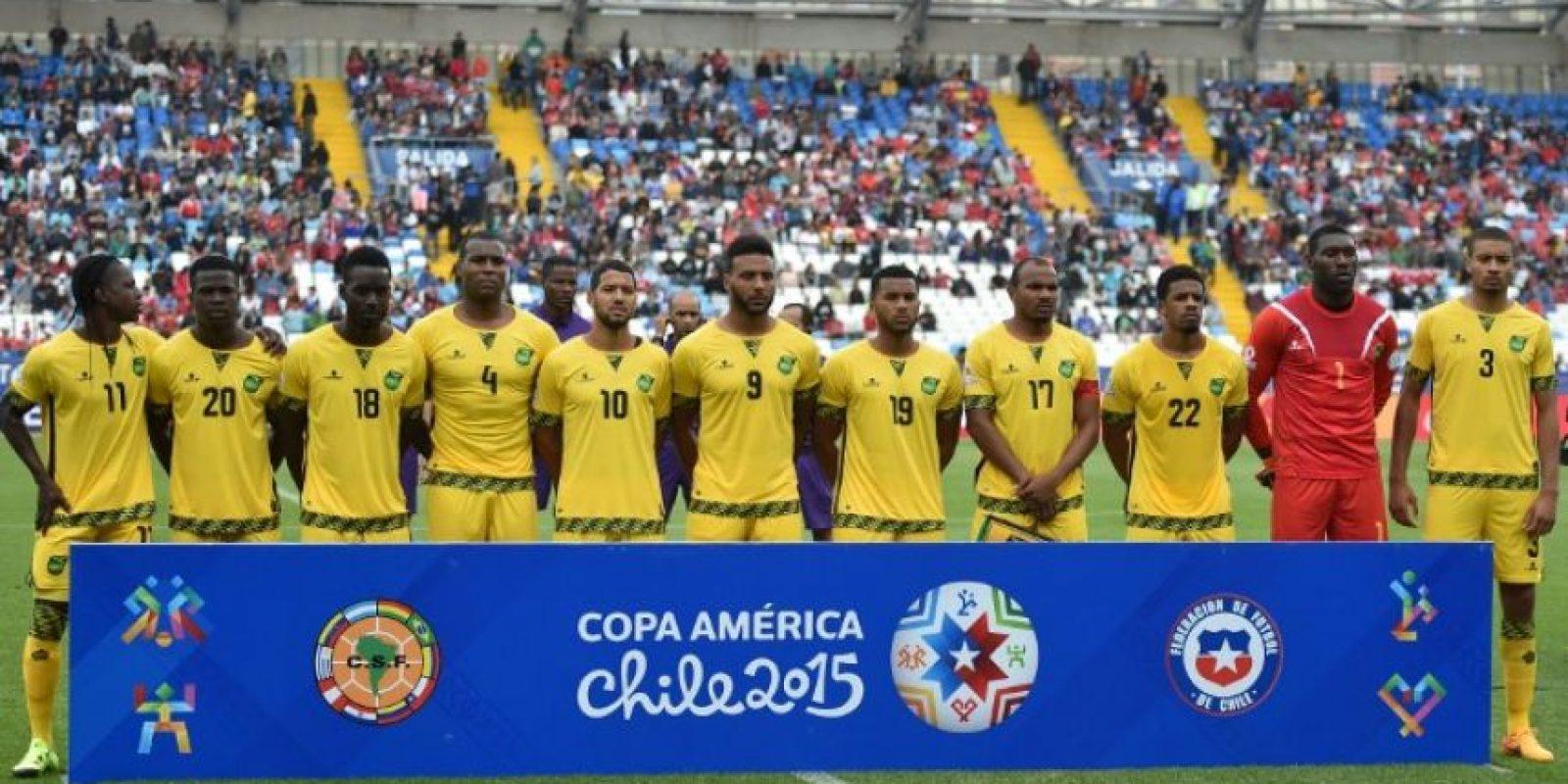 Jamaica hizo un buen partido ante Uruguay Foto:AFP