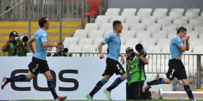 Ganaron en su debut con un gol de Cristian Rodríguez Foto:AFP