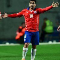 David Pizarro – 35 años. Compite en el medio campo chileno con Arturo Vidal y Gary Medel Foto:Getty Images
