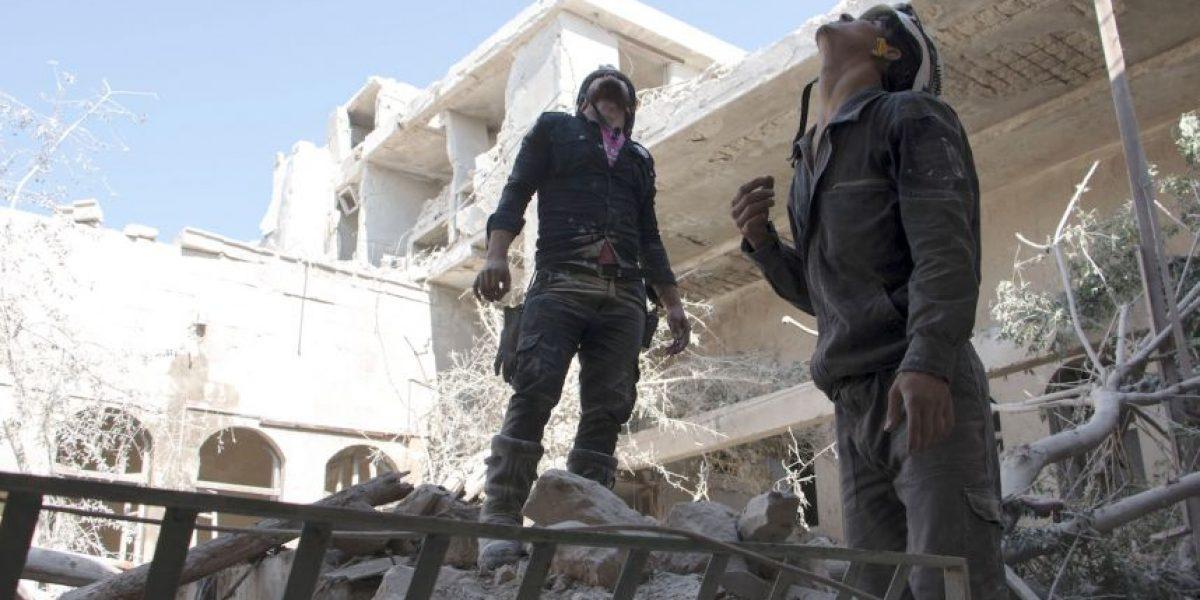 Cohetes matan 12 niños en Alepo, Siria