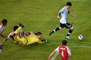 Empató su primer partido 2-2 Foto:AFP
