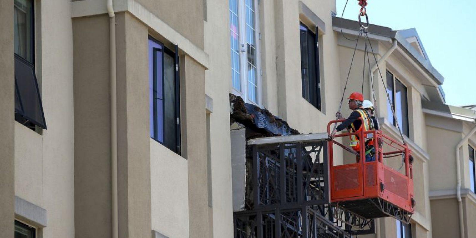 Siete personas más resultaron heridas. Foto:AFP