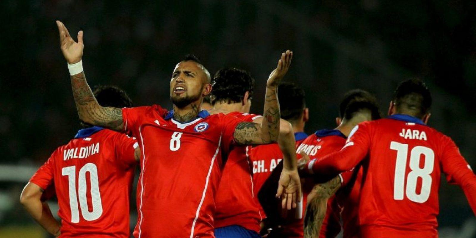 Chile y México protagonizaron este lunes el mejor juego de lo que va en la Copa América. Foto:Vía facebook.com/SeleccionChilena