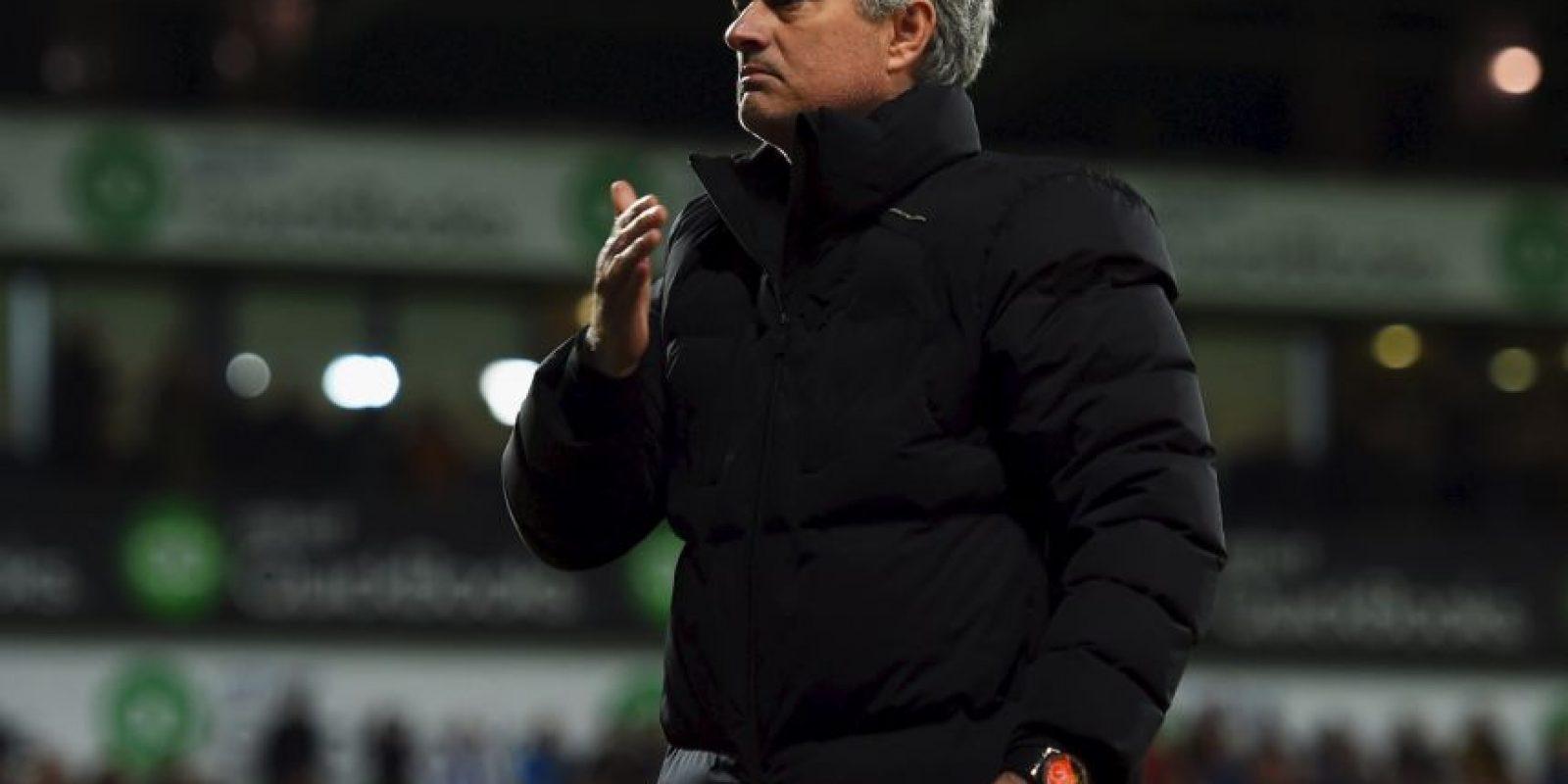 """""""No soy arrogante, solo soy campeón de Europa y creo que eso me hace especial"""", dijo Mourinho en su primera llegada al Chelsea. A partir de ahí le llaman """"The Special One"""" y él ha demostrado tener buena dosis… de egolatría. Foto:Getty Images"""