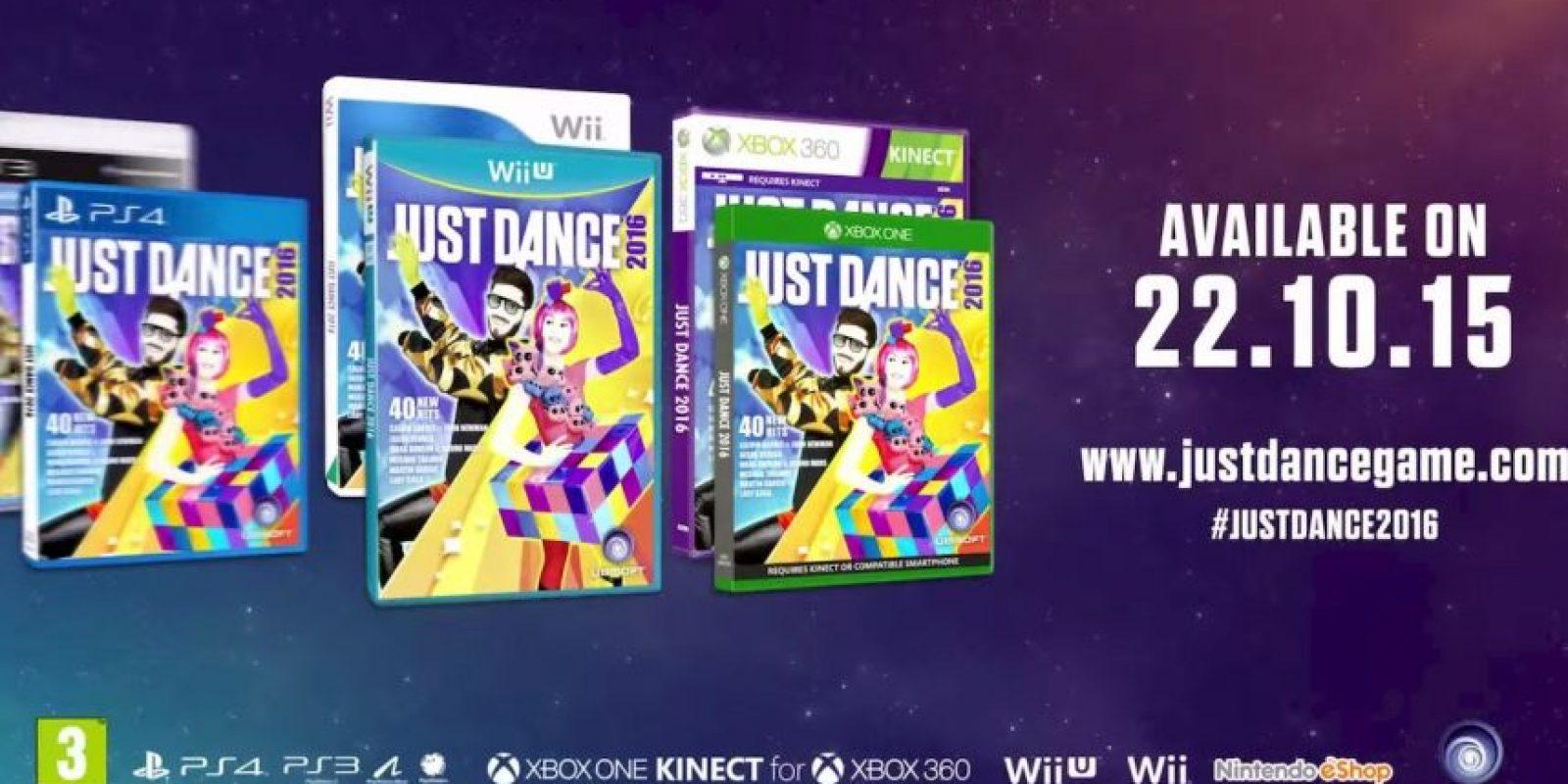 """""""Just Dance 2016"""" a la venta en octubre. Foto:Ubisoft"""