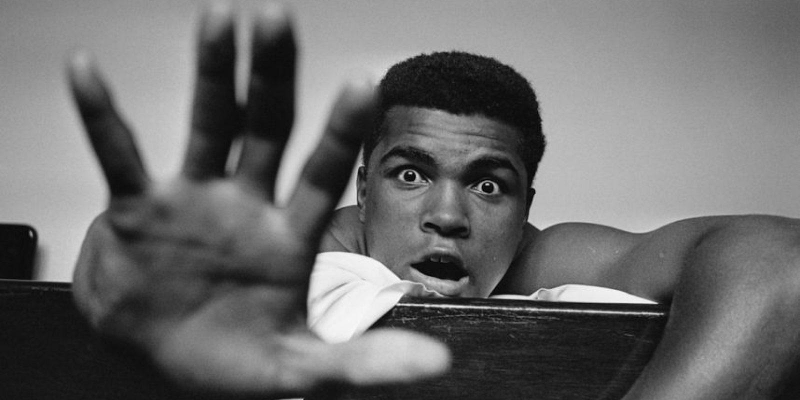 """El considerado mejor boxeador de la historia aseguró que era tan talentoso que podría triunfar en cualquier disciplina: """"En el golf también soy el mejor, sólo que todavía no he jugado"""". Foto:Getty Images"""