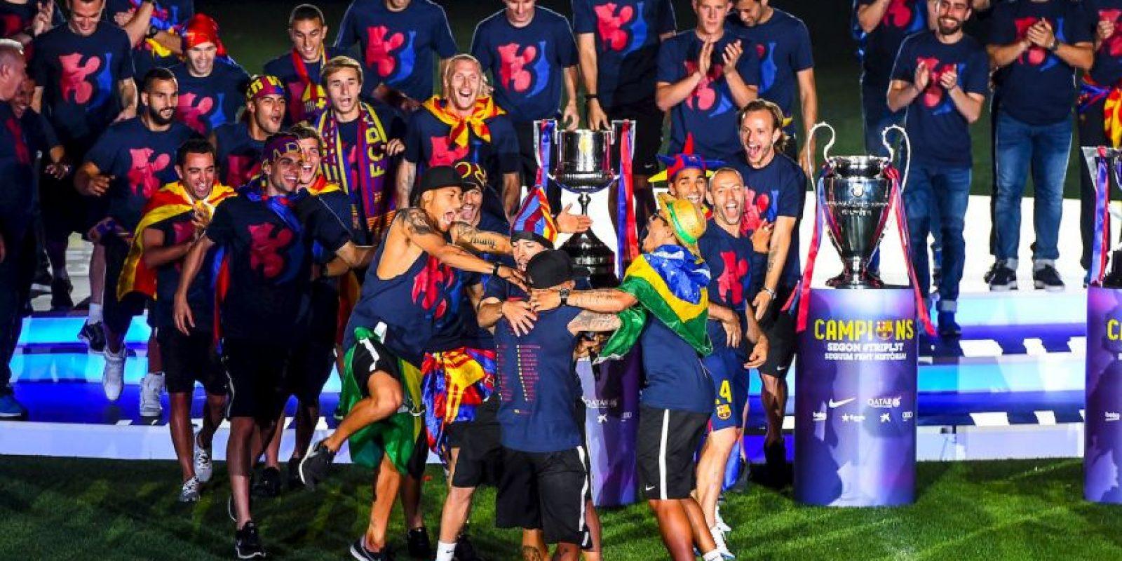 Y por último, le arrebataron a la Juventus la Champions League. Foto:Getty Images