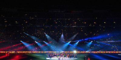 Barcelona festejó en grande su triplete. Foto:Getty Images