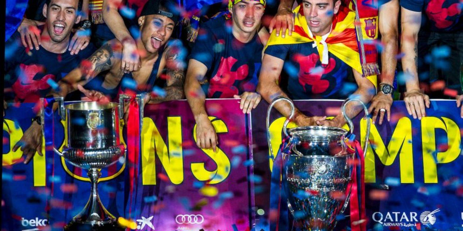 Por ello, los festejos fueron espectaculares. Foto:Getty Images