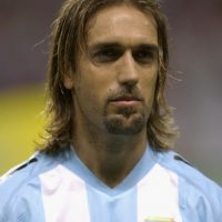 Con Argentina participó en las Copas del Mundo de 1994, 1998 y 2002. Foto:Getty Images