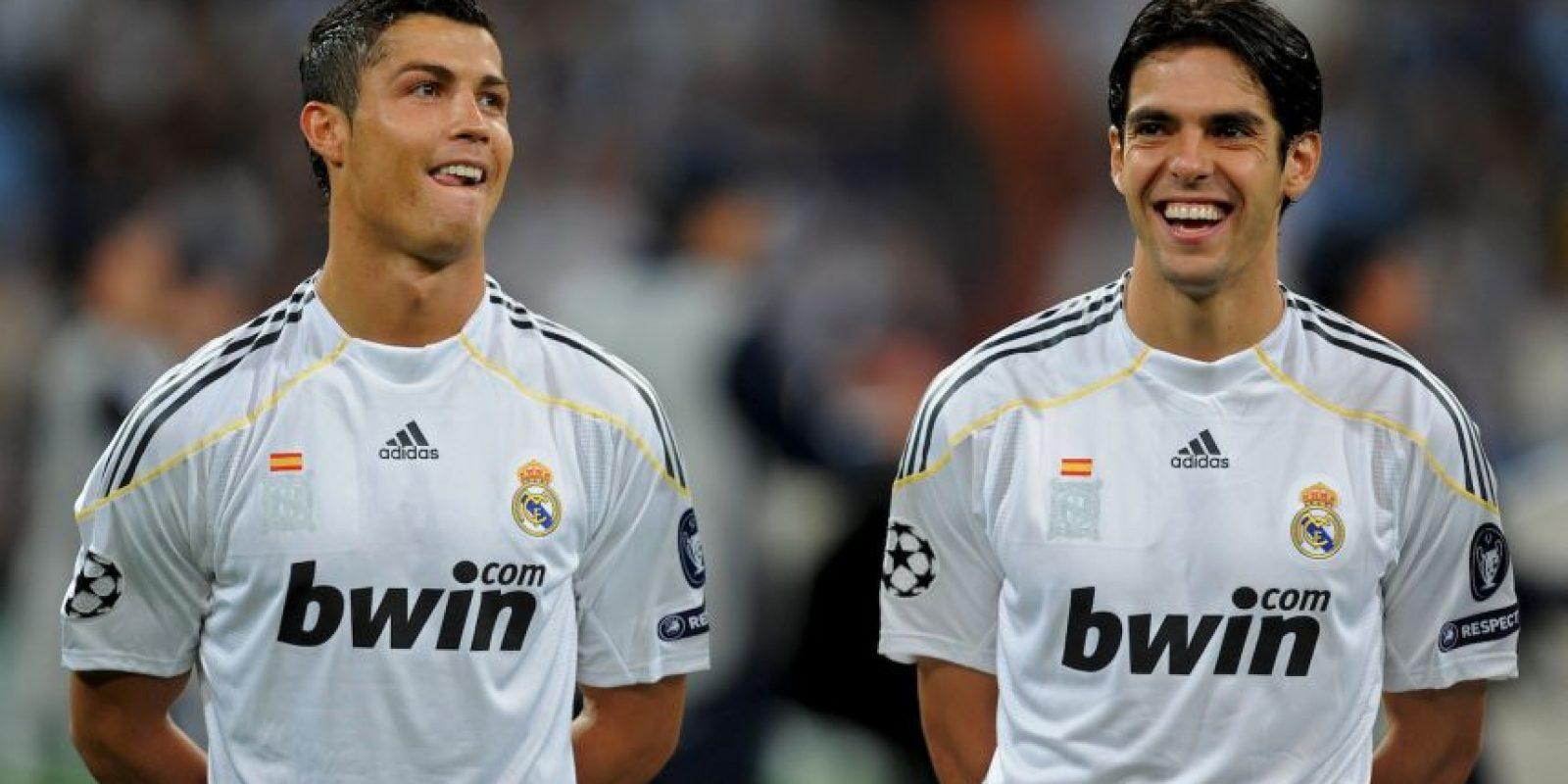 Este fue el primer uniforme en la segunda etapa de Florentino Pérez al frente del Real Madrid. También fue el primer año de Cristiano Ronaldo en el conjunto merengue. Foto:Getty Images