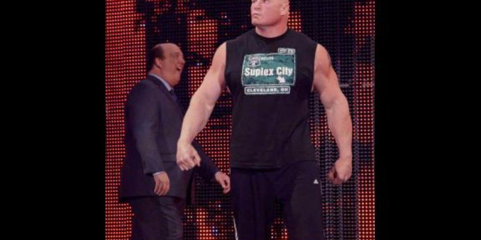 Se trató de Brock Lesnar Foto:WWE