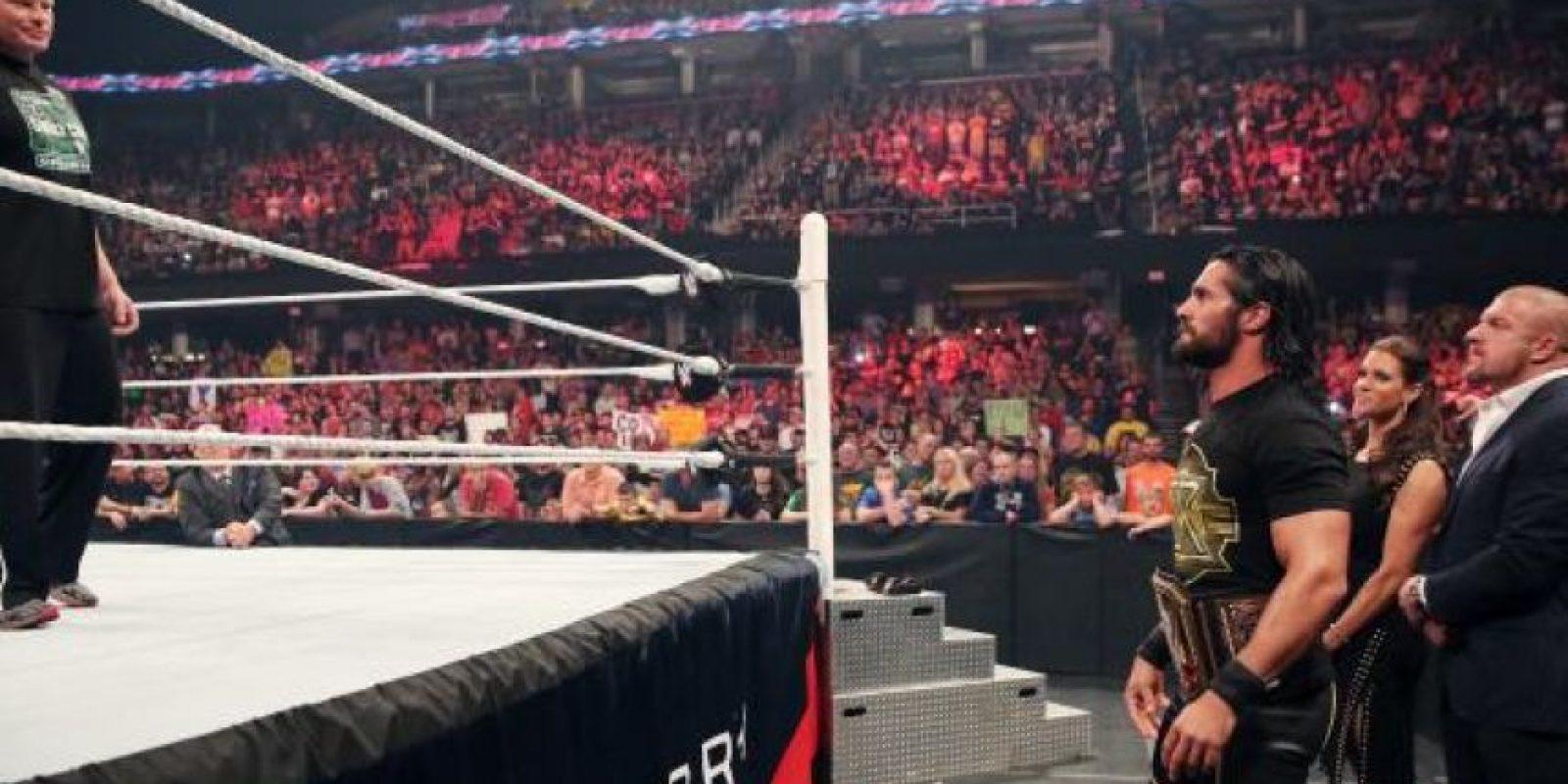 Quien volvió a dejar el ring Foto:WWE