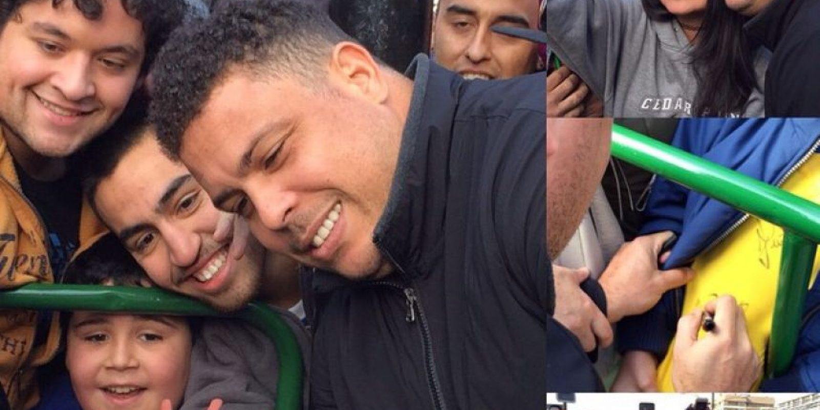 Todo mundo recuerda la mordida de Luis Suárez a Giorgio Chiellini en el Mundial de 2014 pero quizá Ronaldo, no. Foto:Vía instagram.com/ronaldolima