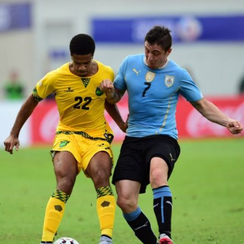 Y Uruguay apenas superó 1-0 a Jamaica Foto:AFP