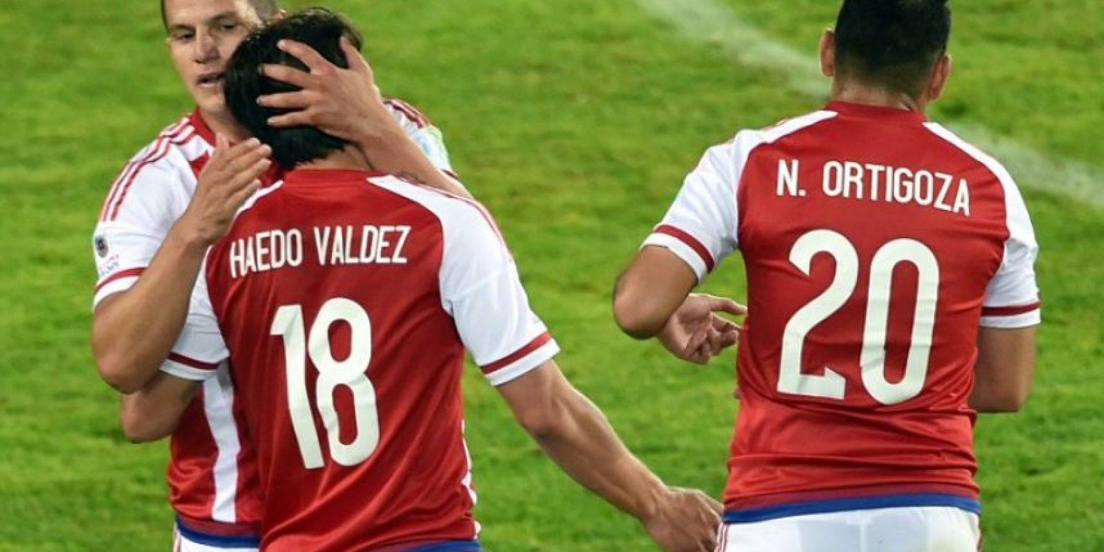 Paraguay le sacó un empate 2-2 a Argentina Foto:AFP