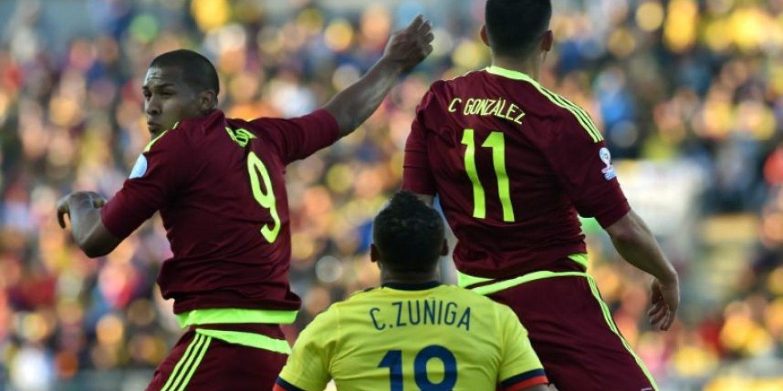 Venezuela superó a Colombia Foto:AFP