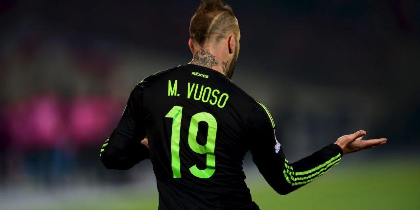 Vuoso marcó un doblete en uno de los mejores partidos de lo que va de la Copa América Foto:AFP