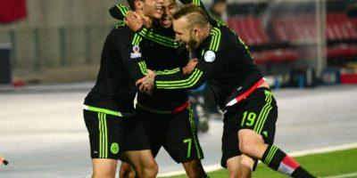 Pocos pensaban que México igualaría 3-3 con Chile Foto:AFP